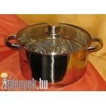 Lábas olajsütő fritőz kosárral 5 literes 8135 KH