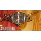 Lábas olajsütő fritőz kosárral 5,5 literes KP – 10/30 FR – HL