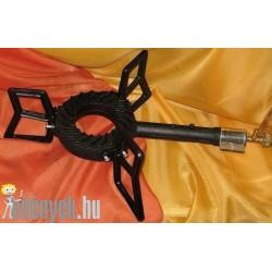 Gázzsámoly, bográcsmelegítő öntöttvas KP – 003 – GS